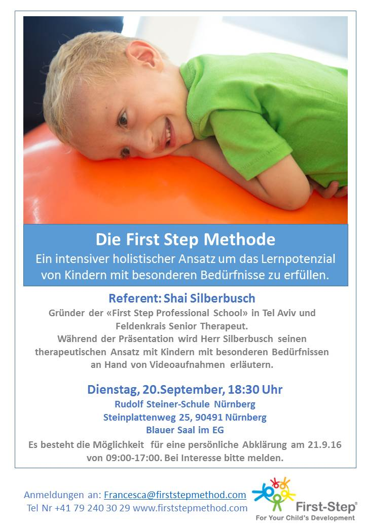 Flyer First Step Special need NBG German final