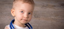 Benedict from Switzerland was born with Wolf-Hirschhorn syndrome